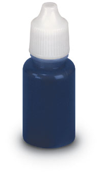 ¼ oz Blue Refill for Pre-inked Stamp