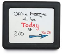 "Optional 14"" x 11"" White Dry Erase Insert"